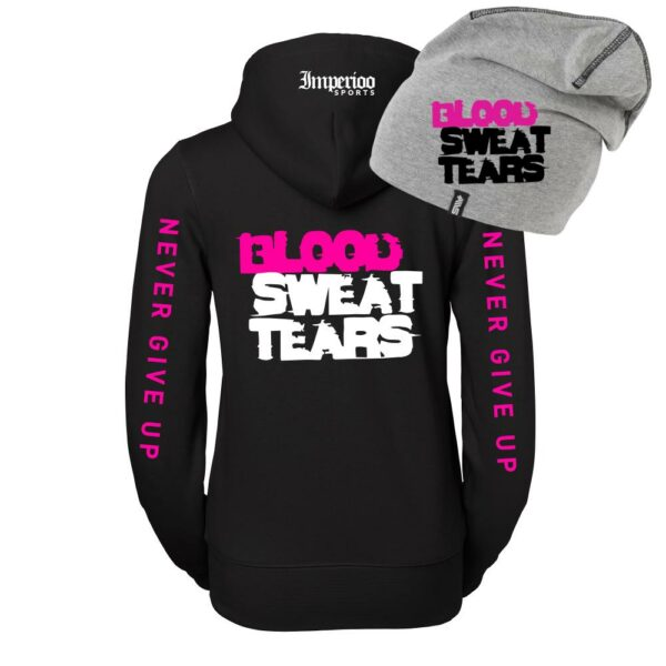 Hood + Mössa Kampanj BLOOD SWEAT TEARS Artikelnr: 220918-KAMPANJDAM.