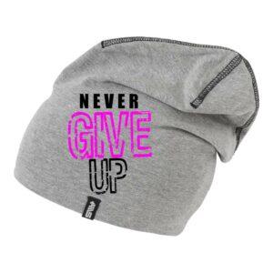 BEANIE Never give up [Beanie-02]