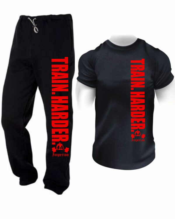 Kombination T-shirt + Byxa Train harder